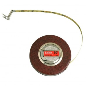 "3/8"" x 50' Home Shop Yellow Clad Tape Measure"