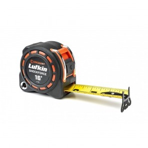 "Lufkin 1-3/16"" X 16' Shockforce Dual Sided Tape Measure"