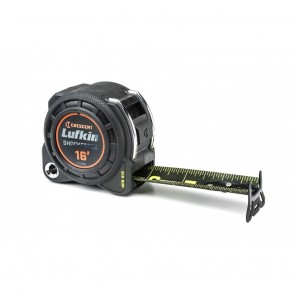"Lufkin 1-3/16"" X 16' Shockforce Nite Eye Dual Sided Tape Measure"