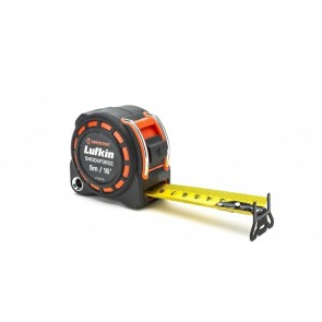"Lufkin 1-3/16"" X 5 M/16' Shockforce Dual Sided Tape Measure"