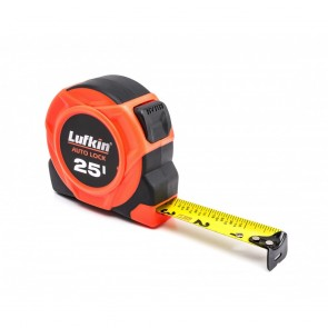 "Lufkin 1"" x 25' 700 Seires Magnetic Yellow Clad Tape Measure"