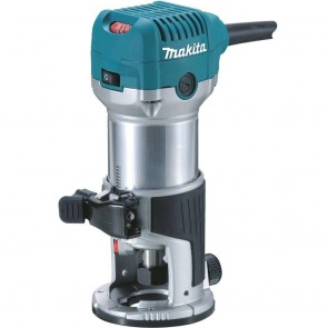 Makita 6.5 Amp 1-1/4 HP Corded Fixed Base Variable Speed Compact Router with Quick-Release