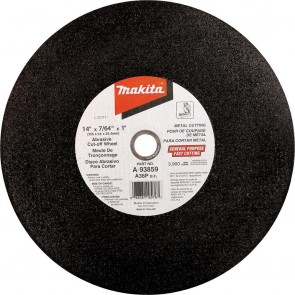 "Makita 14"" x 1"" x 7/64"" Abrasive Cut‑Off Wheel"