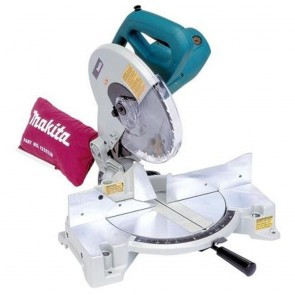 Makita 15 Amp 10 in. Corded Compact Single Bevel Compound Miter Saw with 40T Carbide Blade and Dust Bag