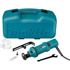 Makita 5 Amp Drywall Cut-Out Tool Kit with Circular Guide, Vacuum Dust Collection Cover, Case