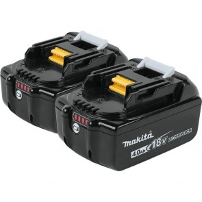 Makita 18V 4.0 Ah Battery (2-Pack)