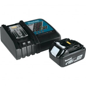 Makita 18V 4.0 Ah Battery and Charger Starter Pack