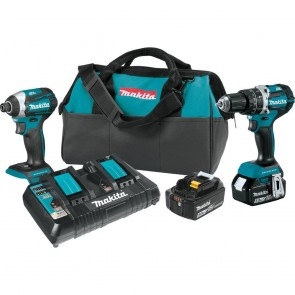 Makita 18V 2 Pc Combo Kit Brushless Hammerdrill/impact Driver 5 Amp