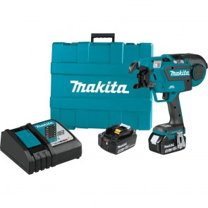 Makita 18V LXT® Lithium‑Ion Brushless Cordless Rebar Tying Tool Kit (5.0Ah)