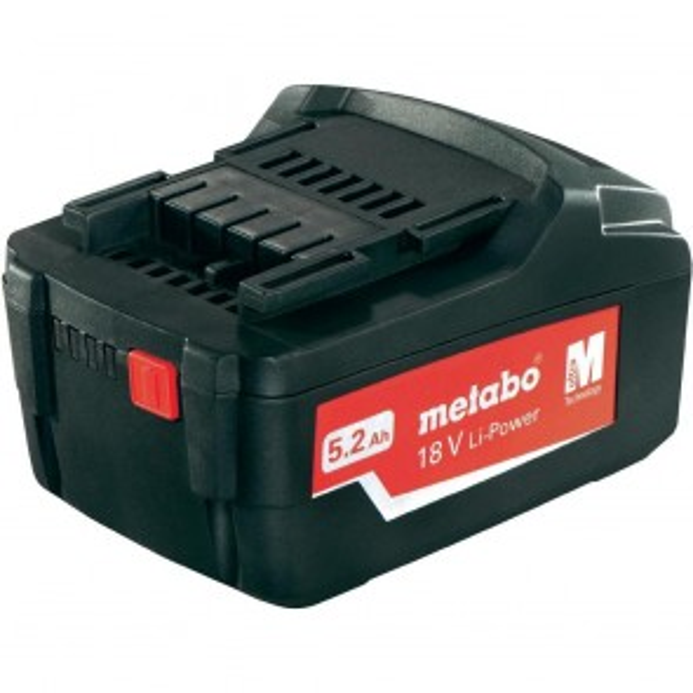 Metabo Li-Power Ultra-M 18V 5.2 Ah Lithium-Ion Battery
