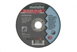 Metabo Choice Cuts™ Slicer Plus Type 1 Straight Cut-Off Wheel