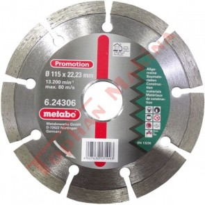 "Metabo 4-1/2"" Diamond Cutting Disc"