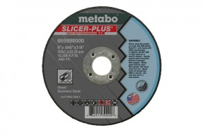 Metabo 4-1/2 in. x 0.045 in. A60TX Type 1 SLICER-PLUS High Performance Cutting Wheels
