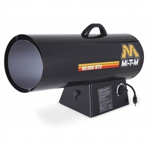 Mi-T-M 40-50-60K Propane Forced Air Heater