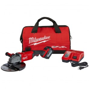Milwaukee M18 FUEL 18-Volt Lithium-Ion Brushless Cordless 7/9 in. Grinder Kit
