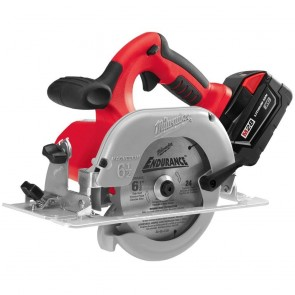 Milwaukee Cordless M28 Lithium-Ion 6-1/2 in. Circular Saw with Case