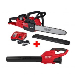 "Milwaukee M18 Fuel 16"" Chainsaw Kit with Blower"