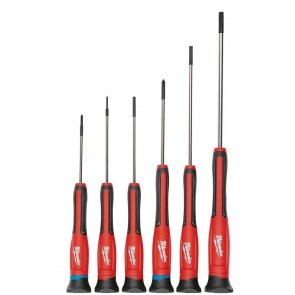 Milwaukee 6-Piece Precision Screwdriver Set