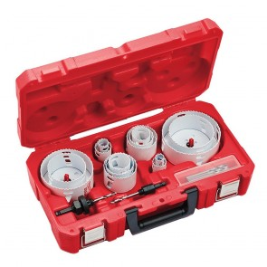 Milwaukee 19 Pc Electricians Hole Dozer Hole Saw Kit