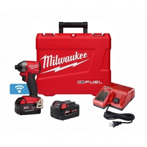 "Milwaukee M18 FUEL 1/4"" Hex Impact Driver w/One Key XC Kit"