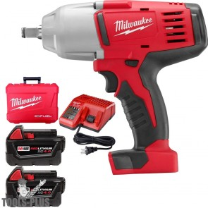 Milwaukee M18 Lithium-Ion Cordless 1/2 in. Impact Wrench W/ Friction Ring Kit