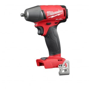 Milwaukee FUEL M18 Cordless Lithium-Ion 3/8 in. Compact Impact Wrench with Friction Ring (Bare Tool)