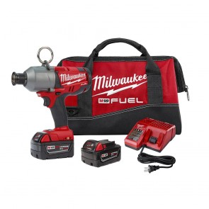 Milwaukee M18 FUEL Cordless 7/16 in. Utility Impacting Drill with 2 REDLITHIUM Batteries