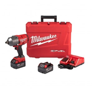 Milwaukee M18 FUEL High Torque 1/2 in. Impact Wrench with Pin Detent (Kit)