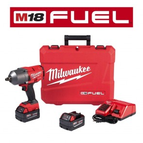 Milwaukee M18 FUEL High Torque 1/2 in. Impact Wrench with Friction Ring (Kit)