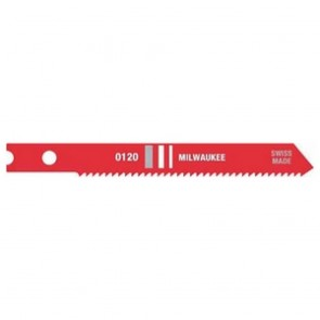 "Milwaukee 2-3/4"" x 18TPI Jig Saw Blade 5-Pack"