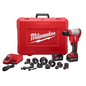 M18 Lithium-Ion 1/2 in. - 2 in. Force Logic High Capacity Cordless Knockout Tool Kit