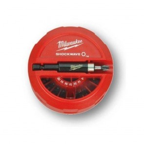 Milwaukee 22-Piece Shockwave Drill Bit Puck Set