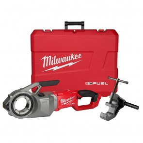Milwaukee M18 FUEL ONE-KEY Cordless Brushless Pipe Threader (Tool Only) with Support Arm and Cas