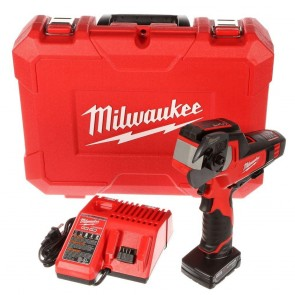 Milwaukee M12 Cordless Lithium-Ion 600 MCM Cable Cutter Kit with XC Battery