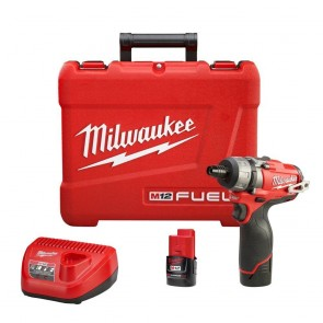 Milwaukee M12 FUEL Cordless Lithium-Ion 1/4 in. Hex 2-Speed Screwdriver