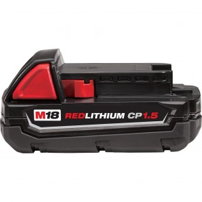 Milwaukee M18 18V 1.5 Ah Lithium-Ion Compact Battery