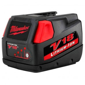 Milwaukee V18 18-Volt 3.0 Amp Hour Lithium-Ion Slide Style Battery