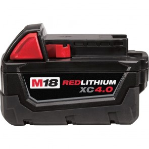 Milwaukee M18 REDLITHIUM XC 4.0 Extended Capacity Battery Pack