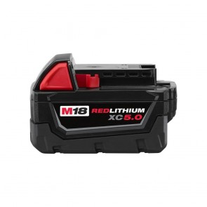 Milwaukee M18 Redlithium XC 5.0 Extended Capacity Battery Pack