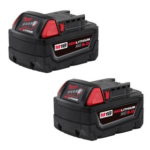 Milwaukee M18 REDLITHIUM XC 5.0 Extended Capacity Battery 2 Pack