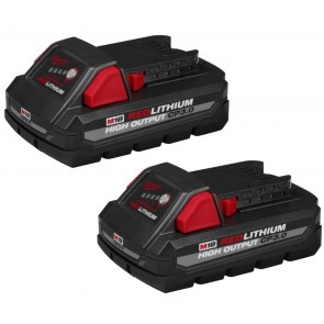 Milwaukee M18 Redlithium High Output CP3.0 Battery 2-Pack