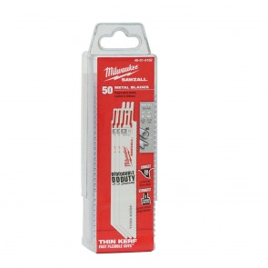 "Milwaukee 6"" x 14TPI Bi-Metal Super Sawzall Blade 50-Pack"