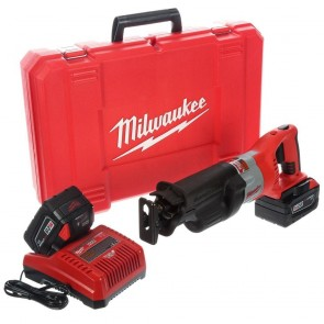 Milwaukee 28V Cordless M28 Lithium-Ion Sawzall Reciprocating Saw with Case