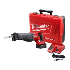 Milwaukee M18 FUEL Cordless Sawzall Reciprocating Saw with REDLITHIUM Battery