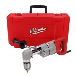 Milwaukee 1/2 in. D-Handle 2-Speed Right Angle Drill with Case