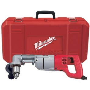 Milwaukee 1/2 in. D-Handle Right Angle Drill with Case
