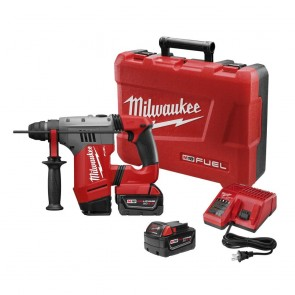 Milwaukee M18 FUEL Cordless Lithium-Ion 1-1/8 in. SDS Plus Rotary Hammer Kit