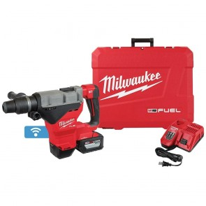 "Milwaukee M18 FUEL 1-3/4"" SDS MAX Rotary Hammer Kit w/12.0 Battery"