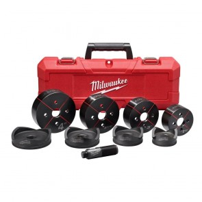 "Milwaukee EXACT 2-1/2"" to 4"" Knockout Set"