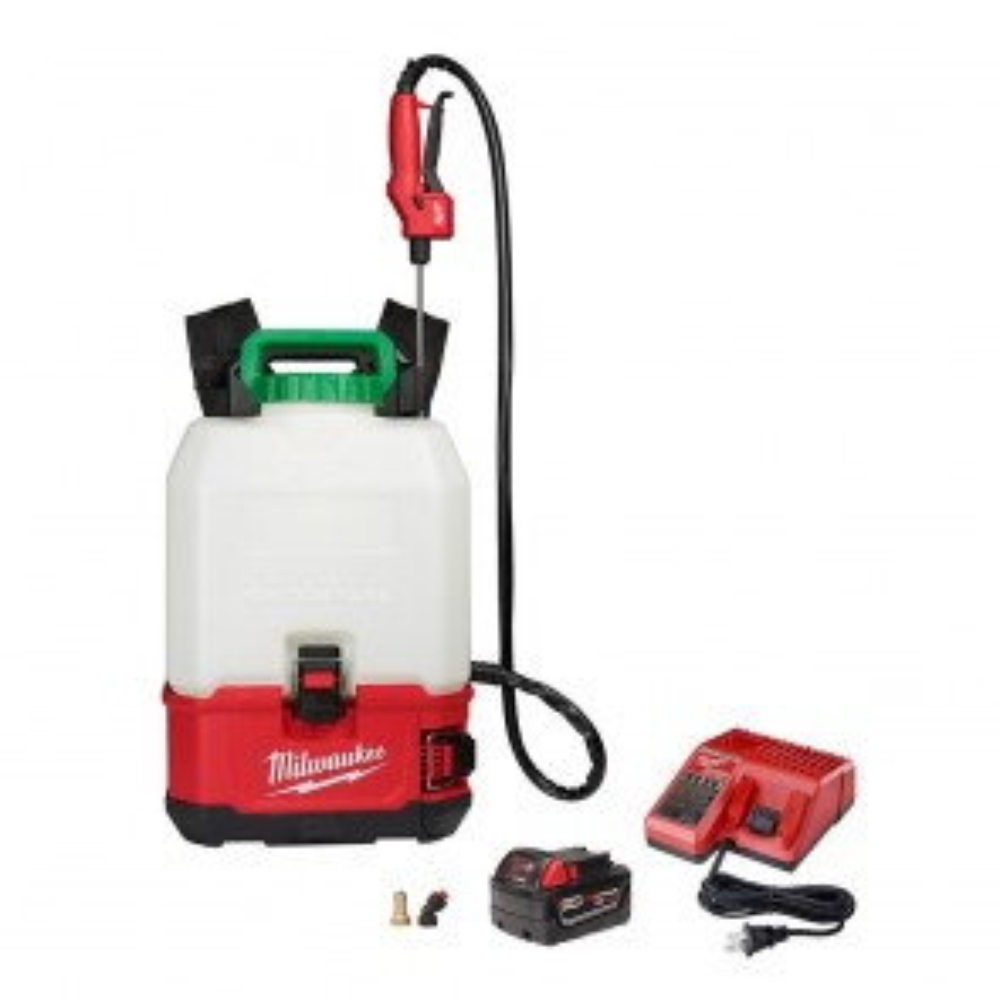 Milwaukee M18 4 Gal. Cordless Switch Tank Backpack Pesticide Sprayer Kit